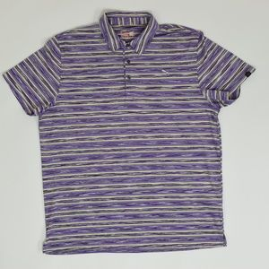 Puma Sport Lifestyle Big & Tall XXL Purple   Polo